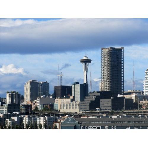 Medium Crop Of Seattle Skyline Outline