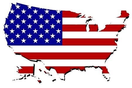 united states map with flag free stock photo public