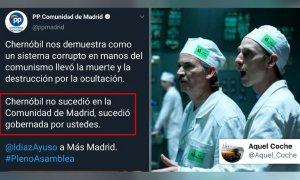 """""""Más Madrid gobernaba en Chernóbil mientras Ayuso votaba a Felipe VI para repartidor de Telepizza"""""""