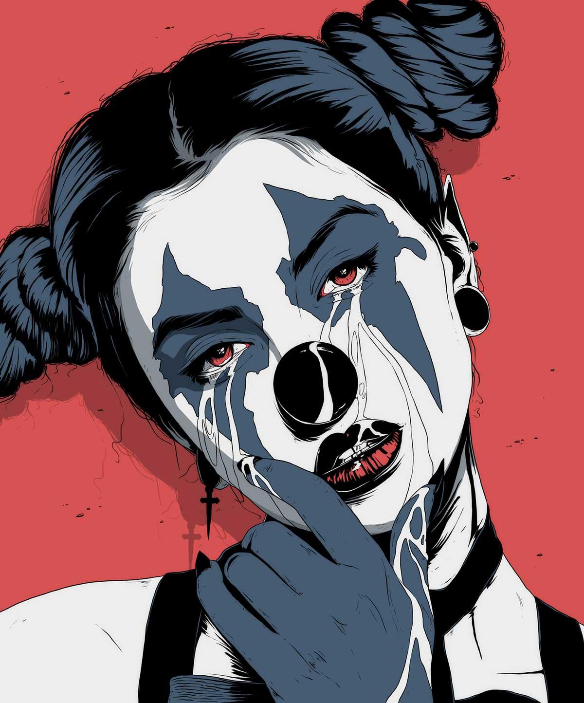 Conrado Salinas - Black Circus