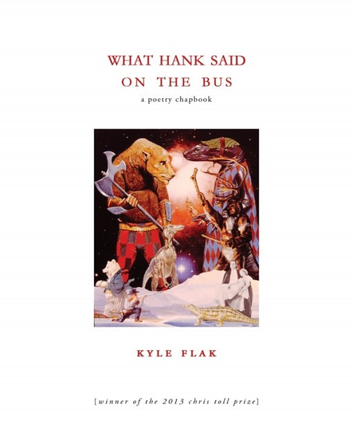 Book cover: What Hank Said On the Bus