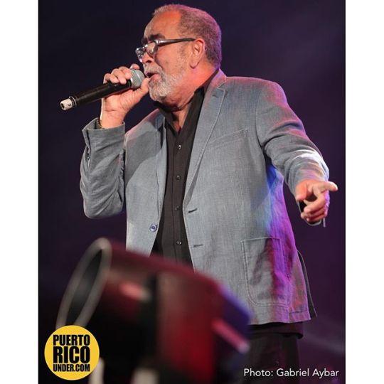 Andy Montañez en Peru. Photo: Gabriel Aybar. @thegab7 #andymontanez #peru #musica #salsa @salsamusic @puertoricounder #puertoricounder