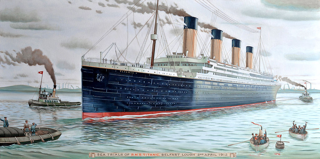 RMS Titanic memories down the lane     106 Years Later