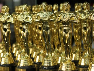 A collection of Oscars statuettes