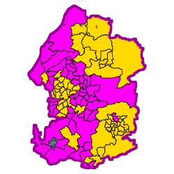 Wards in the West of England Combined Authority that have had Liberal Democrat representation
