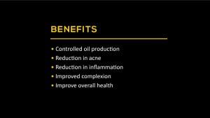 Acne programme benefits - PULSE TCM Clinic