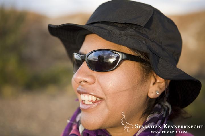 Alejandra Rocio Torrez Tarqui in the Altiplano, western Bolivia