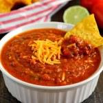 Cheesy Chili Salsa