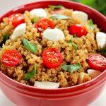 #Ad Quinoa Caprese Salad