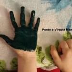 Festa della Donna: lavoretto con mani e pittura