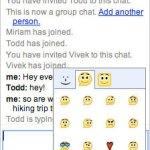 Chats grupales en Gmail + Nuevos emoticones