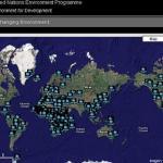 El cambio climático en un mapa de Google Earth