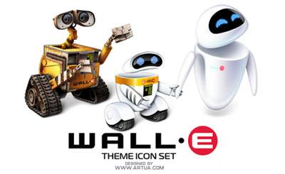 Iconos de Wall-E