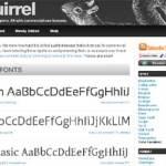 Font Squirrel: Tipografías gratuitas