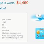 ¿Cuánto dinero vale tu perfil de Twitter?