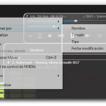 Menú contextual transparente en Windows