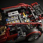 Superdeportivo de Lego