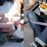 Chairless, una cinta para sentarte y sin silla