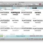 Font Comparer, compara fuentes de Google Fonts y Typekit online