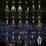 Muñecos de acción de personajes de la ciencia
