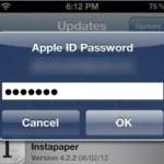 Cómo instalar aplicaciones sin ingresar la contraseña en el iPhone