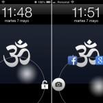 JellyLock: Pantalla de bloqueo inspirada en Android JellyBean para iOS