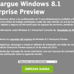 Descargar Windows 8.1 Enterprise Preview GRATIS