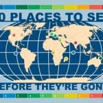 10 lugares que hay que visitar antes de que desaparezcan