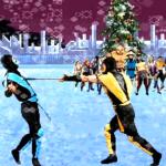 Celebración de Navidad estilo Mortal Kombat
