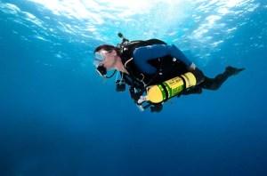 PADI DSAT Tec 40 Diver