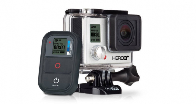 GoPro Hero3+ with remote