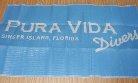 Pura Vida Divers changing mats are here!