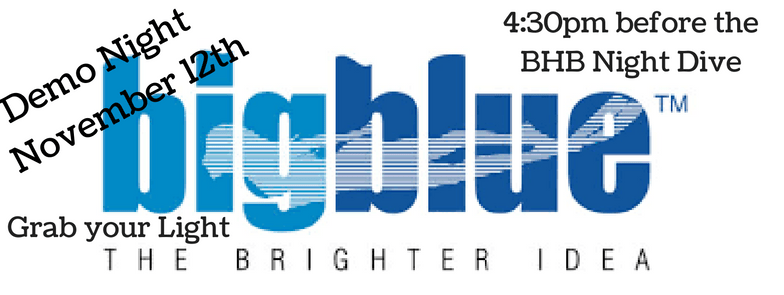 BigBlue Lights Demo Night Rescheduled: November 12th