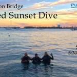 MAY 6: SUNSET DIVE AT BLUE HERON BRIDGE