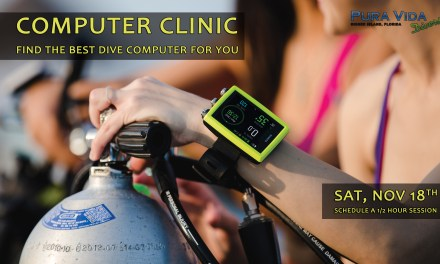 NOV 18: DIVE COMPUTER CLINIC