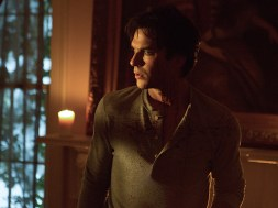"The Vampire Diaries -- ""Things We Lost in the Fire"" -- Image Number: VD711a_0006.jpg -- Pictured: Ian Somerhalder as Damon -- Photo: Eli Joshua Adé/The CW -- © 2016 The CW Network, LLC. All rights reserved."