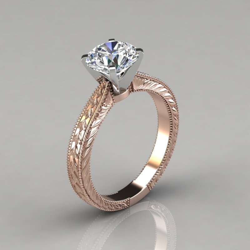 Large Of Engagement Ring Hand