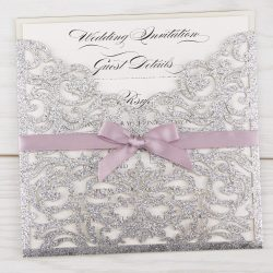 Smashing Glitter Ruby Bow Diy Wedding Invitations Free Samples Pure Invitation Wedding Invites Diy Wedding Invitations Free Diy Wedding Invitations Rustic