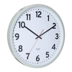 Majestic Face Buy Toki Kennett Grey Silent Sweep Wall Clock Online Alarm Clock S Photo Grey Wall Clock