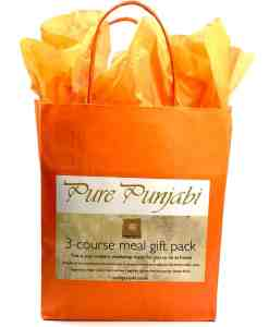 Pure Punjabi 3-course meal gift pack