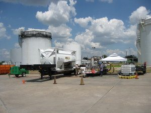 RVRU Storage Tank Degassing Footprint