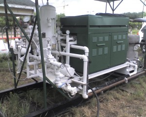 Vaporizer for CO2, cryogenic liquids