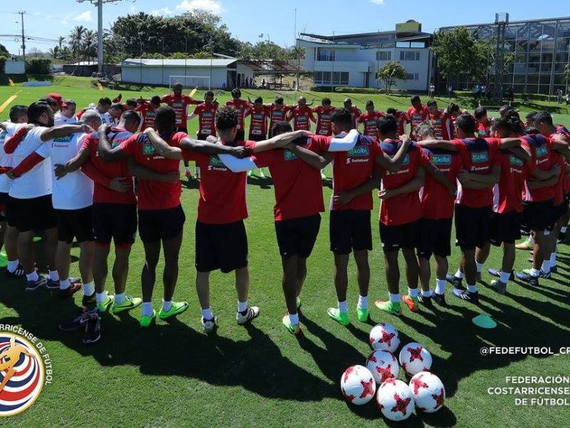 Selección Nacional de Fútbol Costa Rica. Foto Facebook