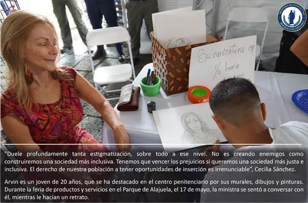 Costa Rica Ministra Justicia Cecilia Sánchez. Foto Ministerio Justicia