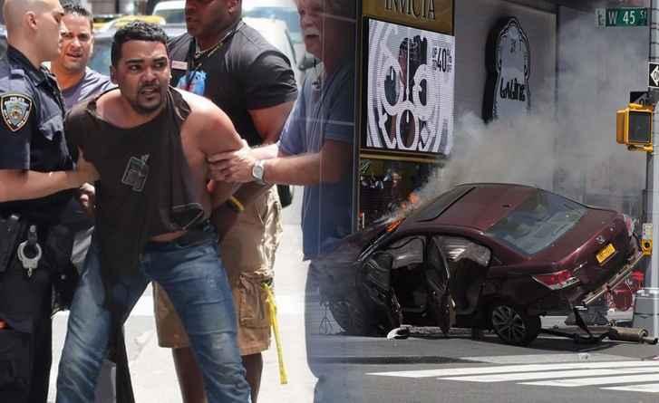 New York chofer detenido. Foto nydailynews.com