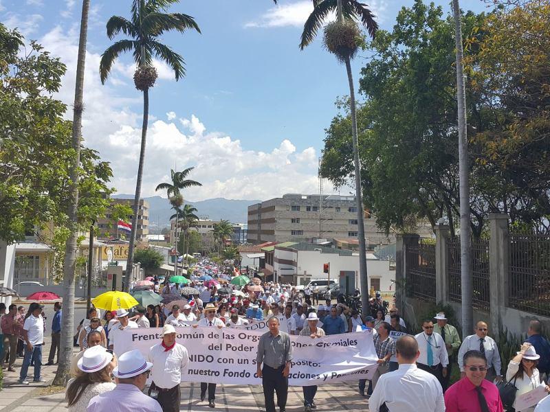 Costa Rica huelga judicial. Google Images