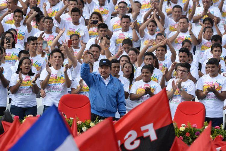 Nicaragua Daniel Ortega 19 julio 2017. Foto laprensa.com.ni