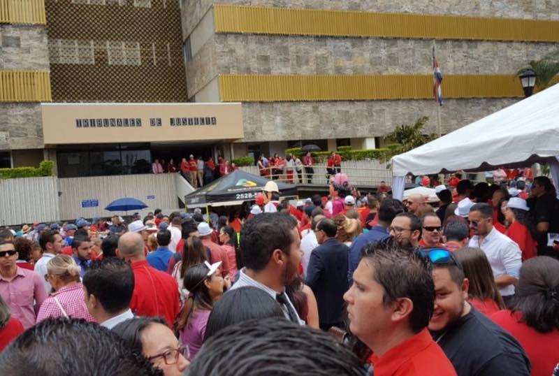 Protesta judicial.1-San José. Facebook
