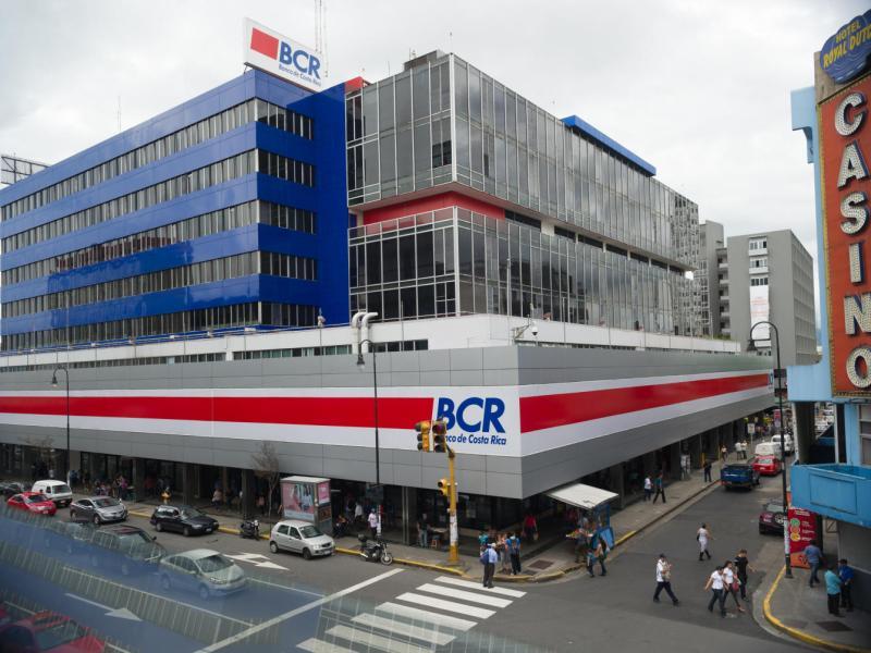 8/7/2016. San Jose. Edificio del Banco de Costa Rica en la avenida segunda. foto jeffrey zamora