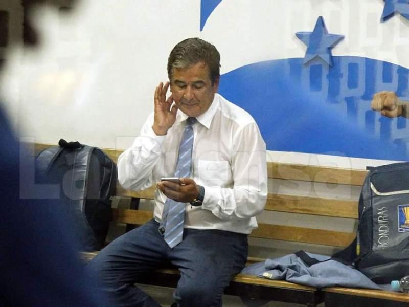 Entrenador Jorge Luis Pinto. Foto diario La Prensa Honduras